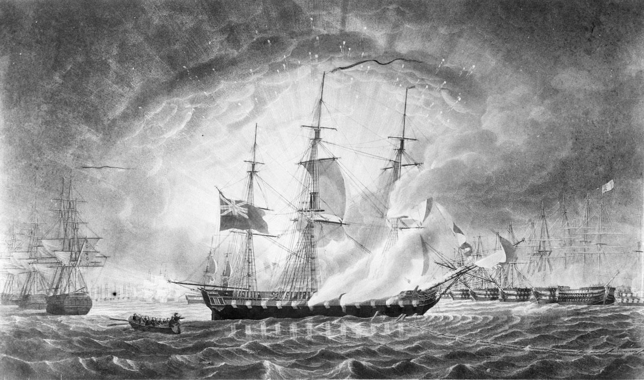 Fireships attack